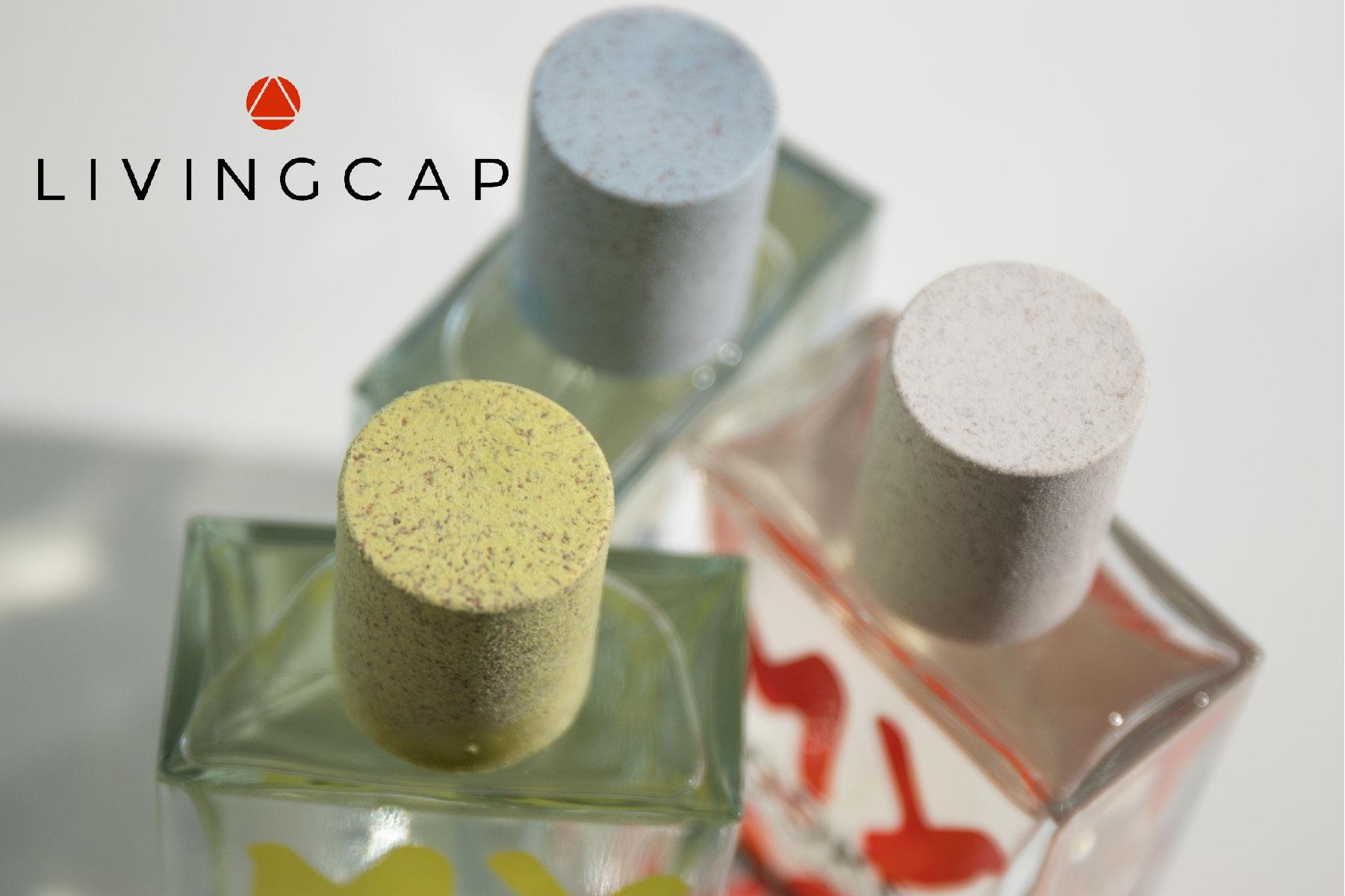 Un esempio di design circolare: capsule per profumo in materiale sostenibile Mixcycling®
